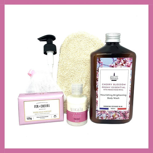 (CHERRY BLOSSOM) Bath Set Série 2020 櫻花沐浴套裝