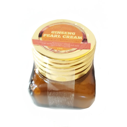 Ginseng Pearl Cream 人蔘珍珠膏 100%珍珠粉 + 人蔘片
