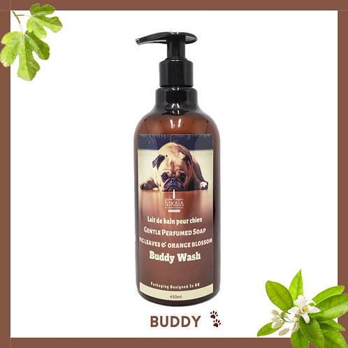 Orange Blossom & Fig Leaves Gentle Perfumed Buddy Liquid Soap 法國無花果橙花薰香寵愛皂液