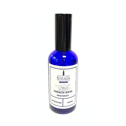 French Rose Relaxation Body Massage Oil