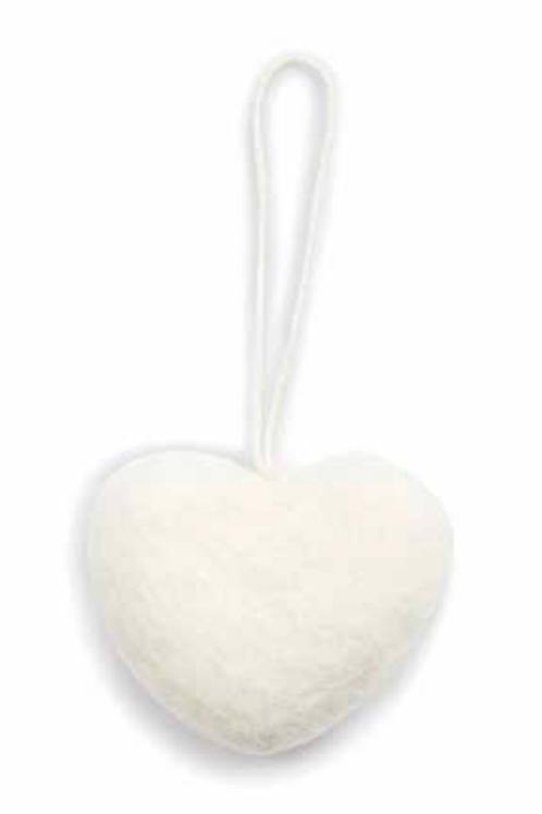 Petit cœur blanc