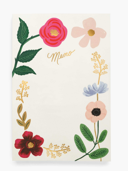 Bloc notes Wildflowers