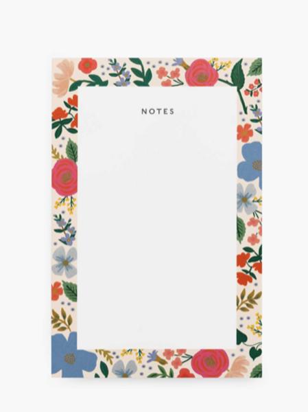 Bloc notes Wild Rose