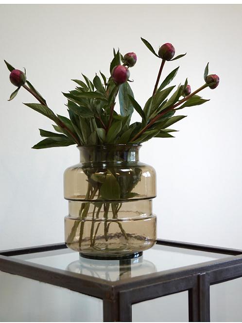 Vase fumé gris clair