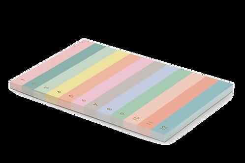 Desk-pad Colorblock