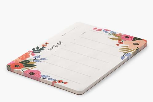 Desk-pad Lively Floral