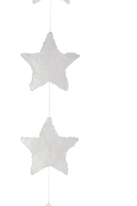 Guirlande  en papier étoiles