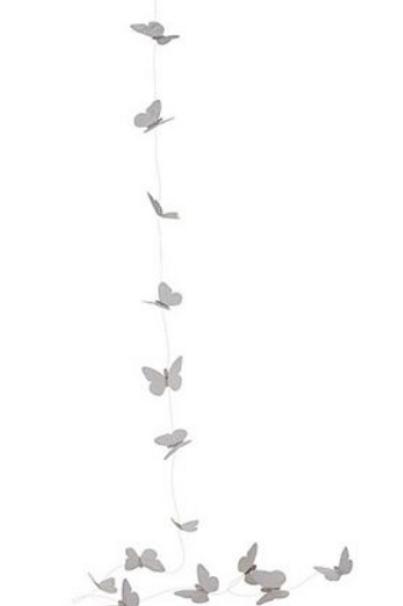 Guirlande minis papillons