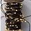 Thumbnail: Guirlande fil de couleur - 100 leds blanches