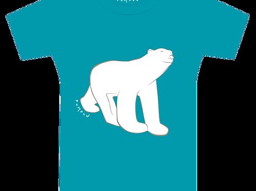 "Tee-shirt enfant Ours ""effet peluche"""