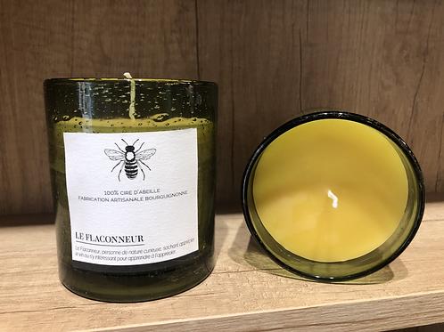 Bougie 100 % cire d'abeille