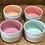 Thumbnail: Minis bols apéritif 7 cl - tour blanc intérieur coloré