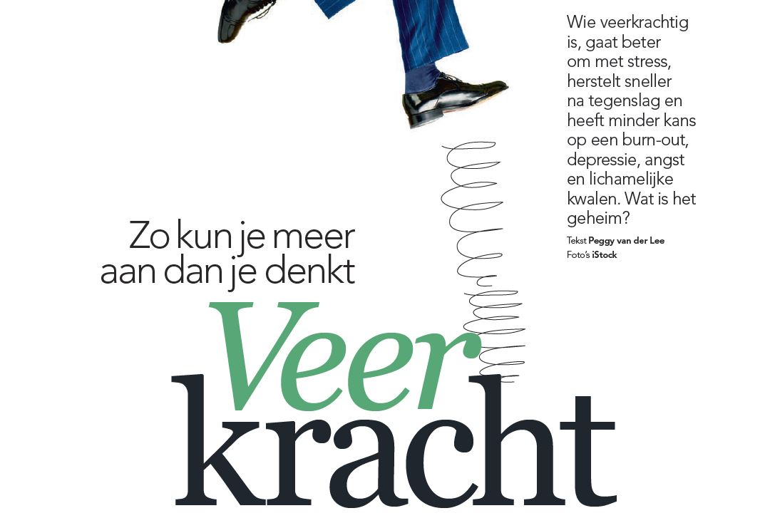 Veerkracht - Plus Magazine