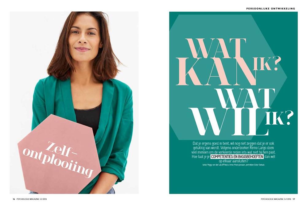 Psychologie Magazine - Wat kan ik, wat wil ik?