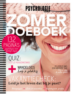 Zomerdoeboek Psychologie Magazine 2017