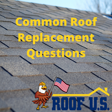 Is this your first time getting a roof replacement?