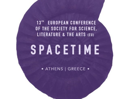 Kurtis Lesick speaks on space, time, and mattering in Athens on June 26, 2019