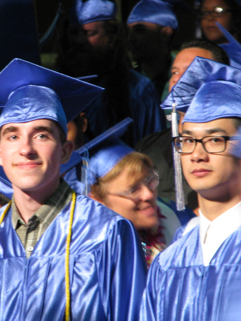 2016: Receives Associate's Degree