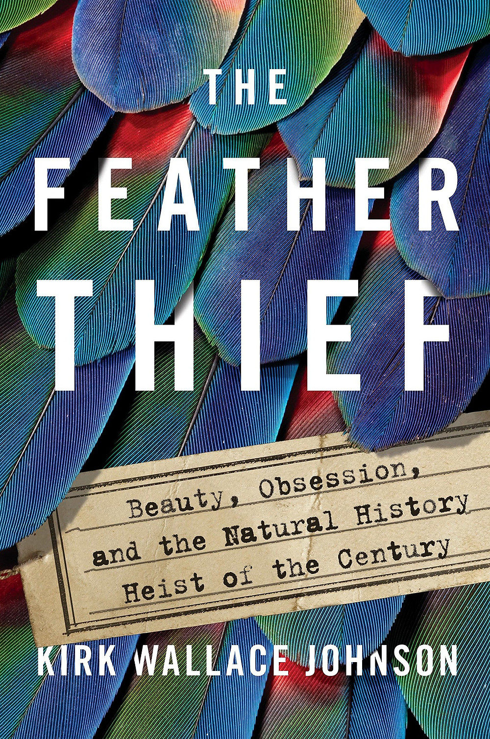 """Book cover of """"The Feather Thief."""""""