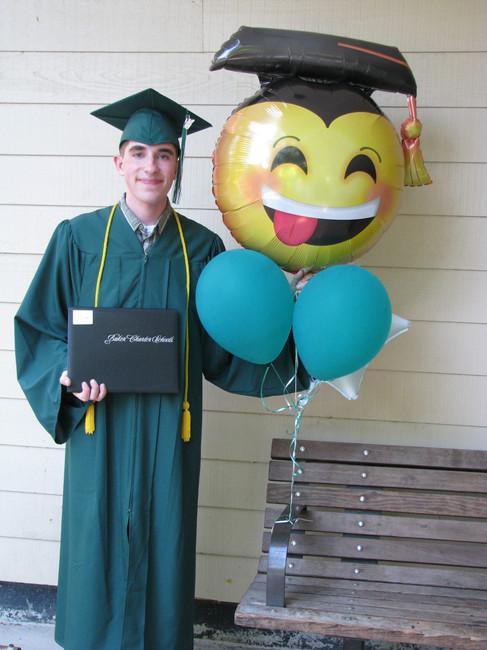 2016: Graduates from High School