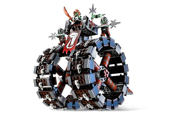 Image of the LEGO Troll Battle Wheel building set