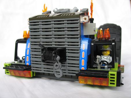Lego Mining Vehicle