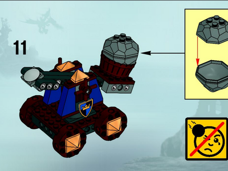 Watch Out For Flying Rocks: Creativity with LEGO Projectile Propulsion Systems