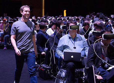A lot of people think Zuckerberg is preparing for a possible presidential run.