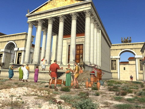 Opened new augmented reality  park at Pompeii developed by Piligrim XXI