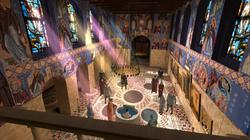 Old Nesebar Eleusa Church Reconstruction