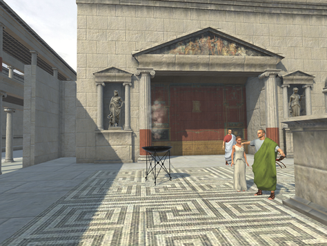 New time portal at ancient Pompeii is open