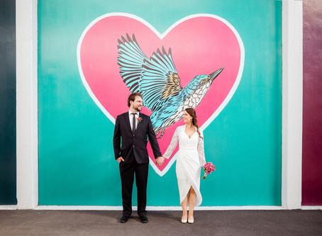 Intimate Christchurch Registry Office Wedding