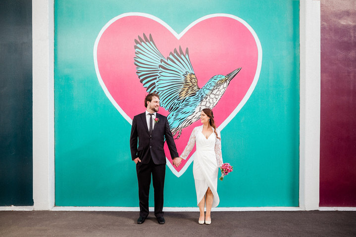 Christchurch City Registry Office Wedding
