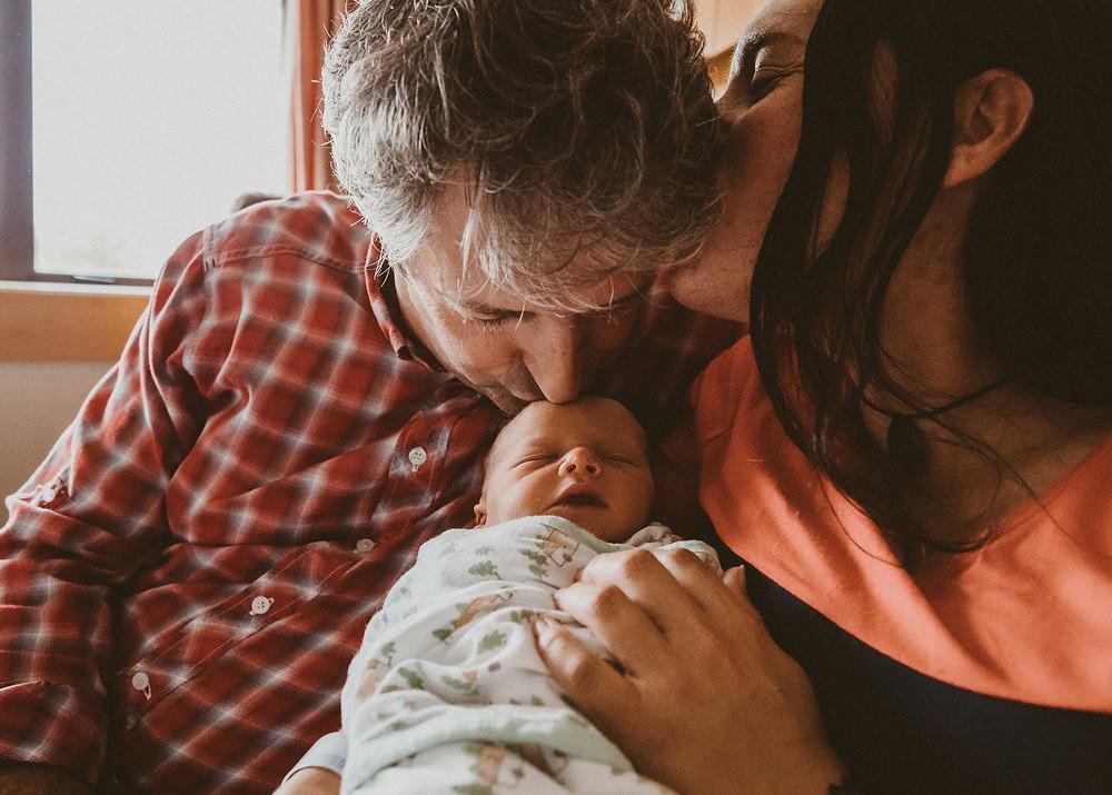 newborn baby parents hospital birth christchurch