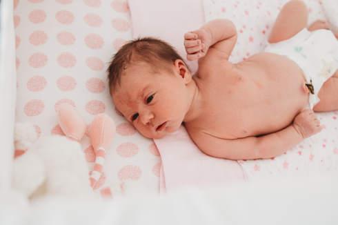 baby in bassinet