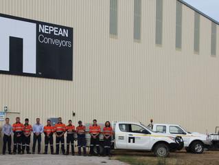 NEPEAN Conveyors new Gulgong facility
