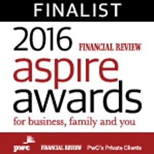 2016 Aspire Awards Finalist