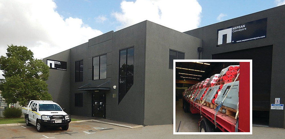 NEPEAN Conveyors Perth facility