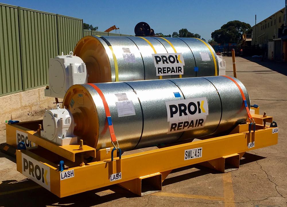 PROK Pulley Refurbishment