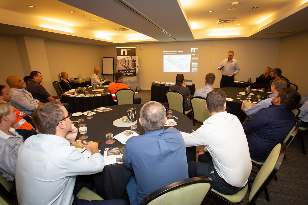 Relocatable Conveyor Presentation by Bill Munday, General Manager NSW
