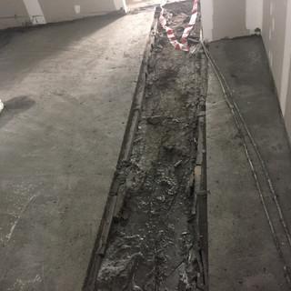 ECOCON lightweight cellular concrete floor screed
