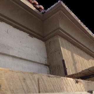ECOCON lightweight concrete cornices