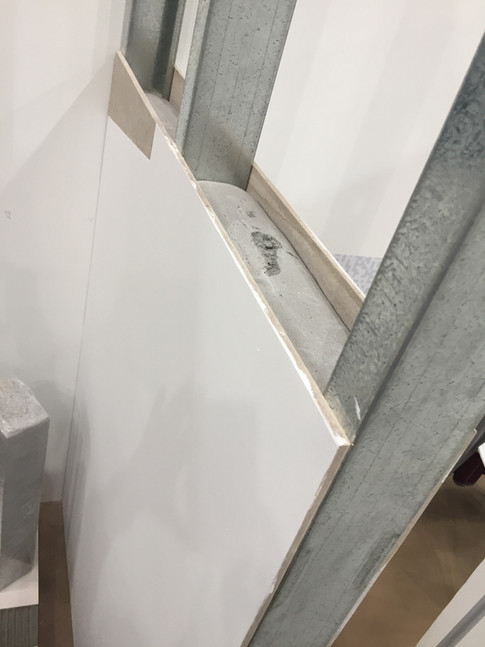 ECOCON Solid wall mock up