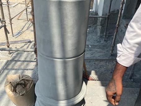 Column mockup