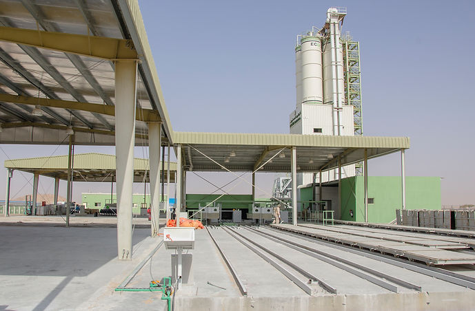 ECOCON plant for producing lightweight cellular concrete
