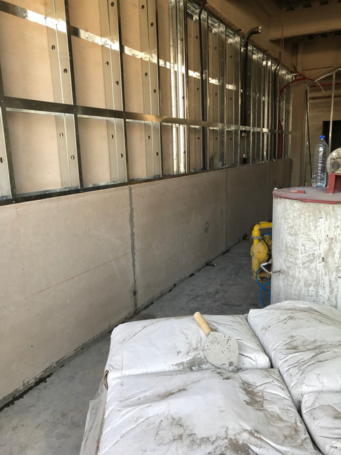 ECOCON Solid Wall System construction
