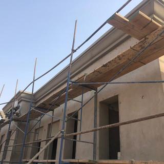 ECOCON cornice as Sheikh Zayed Housing Program Villa