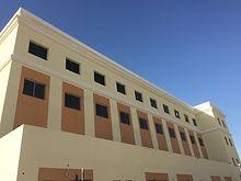 ECOCON decorative cornices installed at school building in Al Barsha area of Dubai