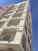 ECOCON decorative facade elements installed at G+6 building in Al Warga area of Dubai