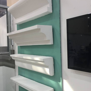 Samples of ECOCON cornices